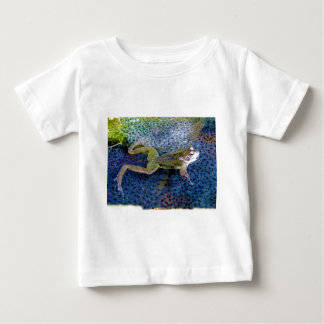 Mother Garden Frog in a Pond of her Frogspawn Tee Shirt