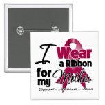 Mother - Multiple Myeloma Ribbon 15 Cm Square Badge