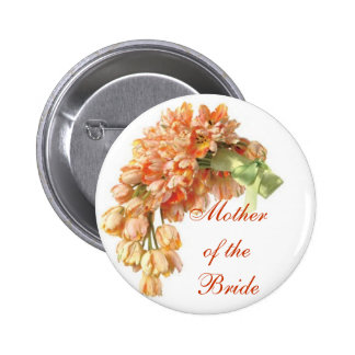 Mother of the Bride 6 Cm Round Badge