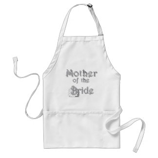 ♥ Mother of the Bride ♥ Very Pretty Design ♥ Standard Apron