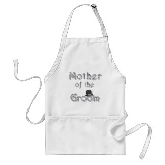 ♥ Mother of the Groom ♥ Very Pretty Design ♥ Standard Apron