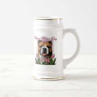 Mothers Day - Pink Tulips - Bulldog Beer Steins