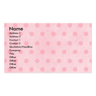Mothers Day - Pink Tulips - Chihuahua Pack Of Standard Business Cards