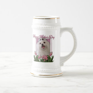 Mothers Day - Pink Tulips - Maltese Beer Steins