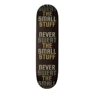 Motivational skateboards