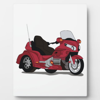 Motor Bike Display Plaques
