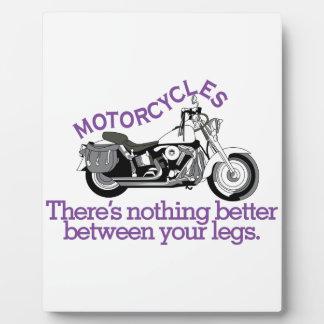 Motorcycles Plaque