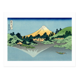 Mount Fuji Reflected in Lake Kawaguchi Postcard