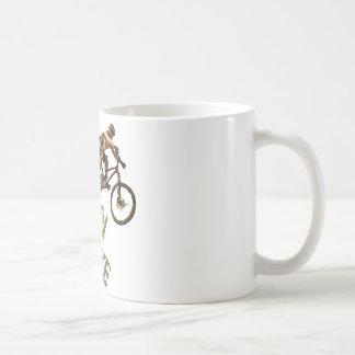 Mountain Bike Basic White Mug