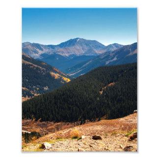 Mountain Layers Art Photo