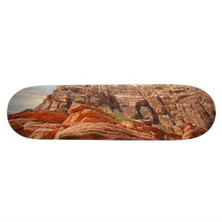 Mountains HDR photo Skateboard Deck