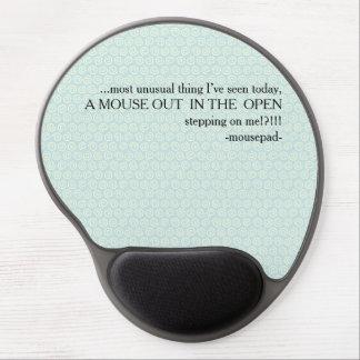 mousepad rant! gel mouse pad