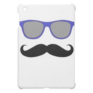 Moustache and Blue Sunglasses Humour iPad Mini Cases
