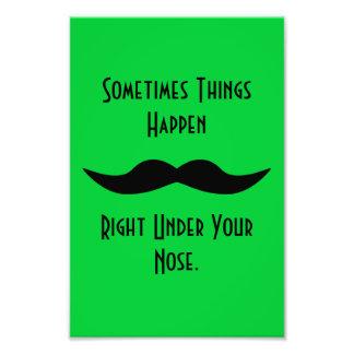 Moustaches Happen Photo