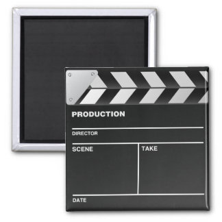 Movie maker Clap Board Fridge Magnet