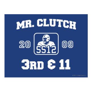 Mr. Clutch Postcard