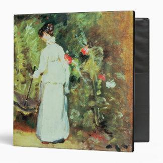 Mrs Constable in her Garden Vinyl Binder
