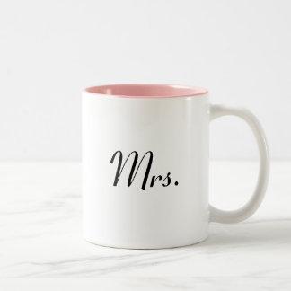 Mrs mug - of Mr & Mrs mugs set