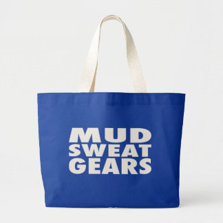 MUD SWEAT GEARS JUMBO TOTE BAG