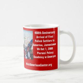 Mug, 400th Anniversary of First Polish Settlers Basic White Mug