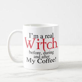 mug half Coffee Witch
