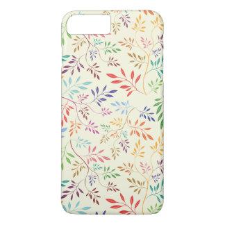 Multi-color Leaf Pattern Phone Case