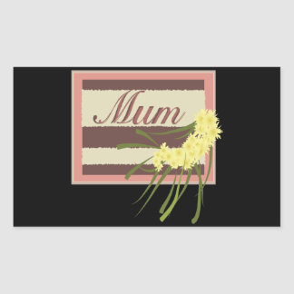 Mum Rectangular Sticker