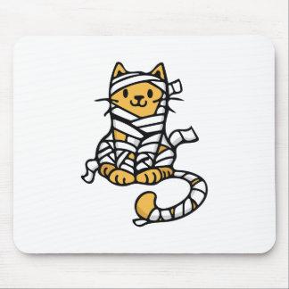 Mummy Cat Mouse Pad