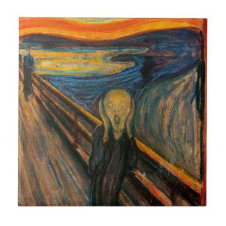 Munch The Scream Tile