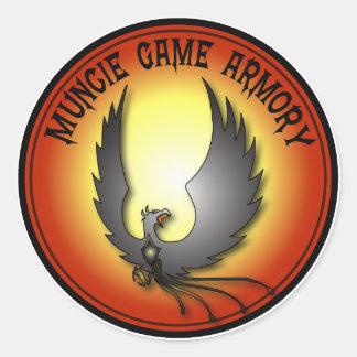 "Muncie Game Armory 3"" Sticker"