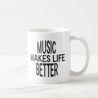 Music Better Mug - Assorted Styles & Colors