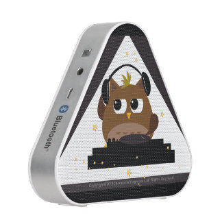 Music DJ Owl Design - Pieladium Speaker