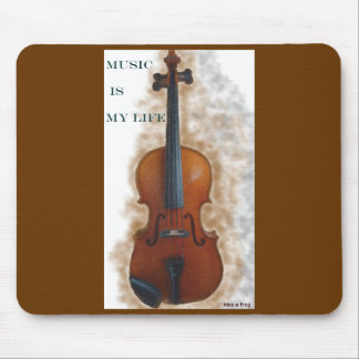 Music Is My Life Mousemat