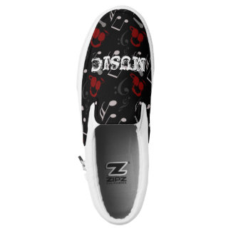 Music Lovers Printed Shoes