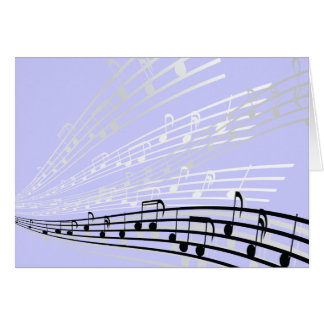 Music Notes ~ Musical Notation Symbols Greeting Card