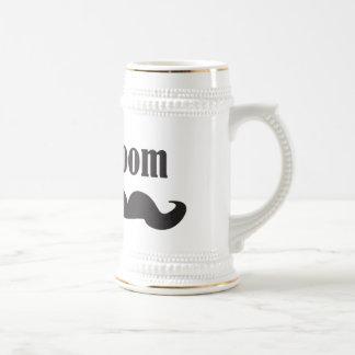 Mustache Groom Beer Steins
