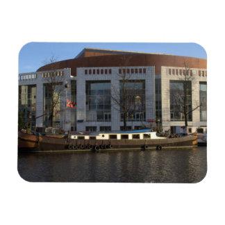 Muziektheater, Amsterdam Rectangular Photo Magnet