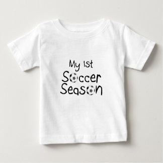 My 1st Soccer Season Shirt