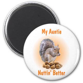 My Auntie 6 Cm Round Magnet