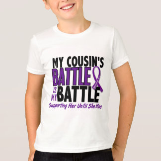 My Battle Too Cousin Pancreatic Cancer Shirts