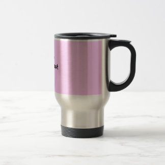 my cup runneth over.....i lost the lid again.... stainless steel travel mug