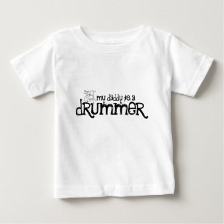 My Daddy is a Drummer Tee Shirt
