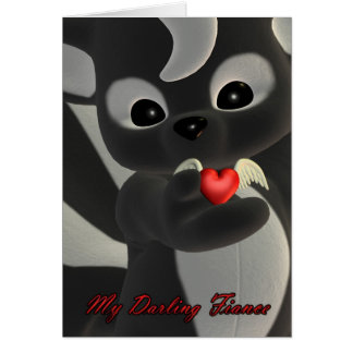 My Darling Fiance, Valentine's Day Card