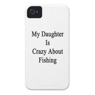 My Daughter Is Crazy About Fishing Case-Mate iPhone 4 Case