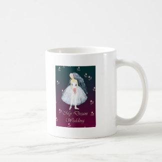 My dream wedding basic white mug
