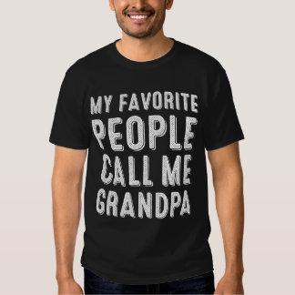 My Favorite People Call Me Grandpa T-shirt