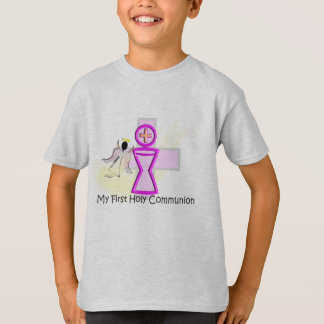 My First Holy Communion Chalice and Angel Tshirts