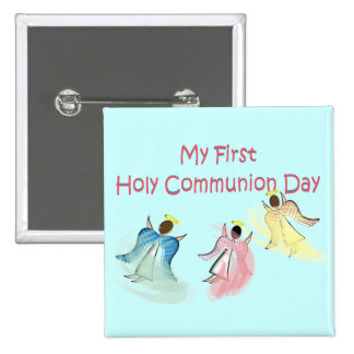 My First Holy Communion Day Gifts 15 Cm Square Badge