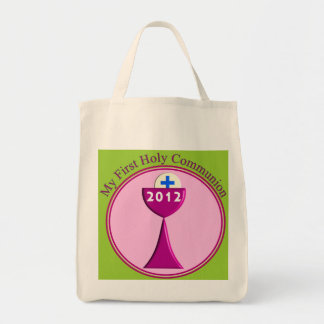 My First Holy Communion Gifts Grocery Tote Bag