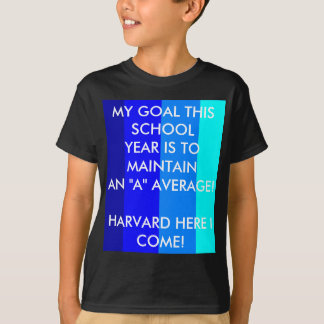 MY GRADES MATTER - STRIPES! T-shirt